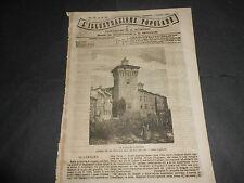 1871 SCANDIANO REGGIO EMILIA FERROVIA DEL MONCENISO FRANCIA UOMINI DELLA COMUNE