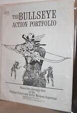 Bullseye Action Portfolio, Plates 1 - 5 of Original Simon & Kirby Western WH
