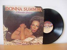 "DONNA SUMMER ""I Remember Yesterday"" Original PROMO LP 1977 CASABLANCA NBLP 7056"