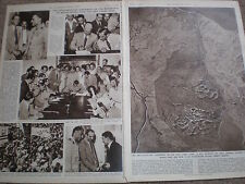 Photo article Anglo Egypt agreement withdrawal troops from Suez canal Zone 1954