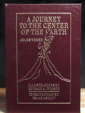 A JOURNEY TO THE CENTER OF THE EARTH Jules Verne EASTON PRESS