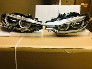 2016 2017 2018 2019 BMW 3 SERIES FULL LED HEADLIGHT LEFT AND RIGHT