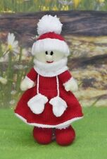 CHRISTMAS EVE DOLL TOY  CHRISTMAS KNITTING PATTERN INSTRUCTIONS TO MAKE YOURSELF