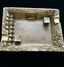 ST DUPONT CATACOMBES ASHTRAY,  LIMITED TO 66 PIECES,  NEW IN THE BOX