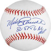 Mike Schmidt Philadelphia Phillies Signed Baseball w/ 80,81,86 NL MVP Insc