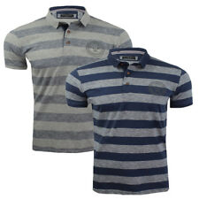 Mens 100% Cotton Polo Casual Designer Golf Top By Brave Soul