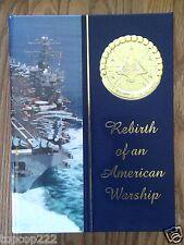BRAND NEW 1996-1998 USS DWIGHT EISENHOWER CVN-69 U.S NAVY ORIGINAL CRUISE BOOK.