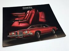 1973 Pontiac Grand Prix Preview Brochure