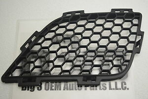 2009-2010 Pontiac G6 Front LH Driver Side Grille Insert Black new OEM 25877951