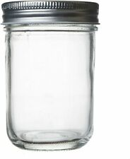 Seacoast Wide Mouth Mason Jars with Steel Lids and Bands, 6.75-Ounces (12-Pack)