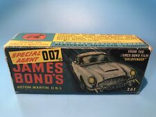 CORGI TOYS VINTAGE 261 JAMES BOND 007 ASTON MARTIN Original boite RARE