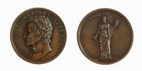 s1166_26) Medaglia Vittorio Alfieri 1819 Monumento Itaca Opus: Lavy AE Ø 48