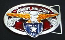 Gürtelschnalle Buckle Johnny Hallyday Rock n Roll Rockabilly
