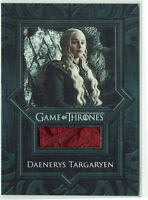 Game of Thrones Inflexions 2019 Relic Costume Card VR9 Daenerys Targaryen Cape