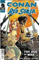 Conan Red Sonja Comic 3 Cover A Dan Panosian First Print 2015 Gail Simone