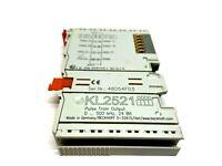 Beckhoff KL2521 Pulse Train Output Module 0-500 kHz 24 Bit