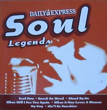 SOUL LEGENDS CD AUDIO MUSIC SOUL MAN STAND BY ME MY GUY WHEN WILL I SEE YOU
