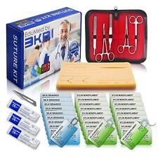 EduMed 41 Piece Practice Suture Kit for Medical and Veterinary Student Training