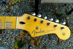 Genuine Fender Lic Relic Strat neck Aged Nitro 50's Stratocaster Mr G's Customs