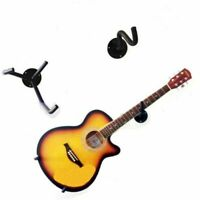Guitar Stand Holder Wall Mount Hanger Display Heavy Duty Hook Rack Horizontal
