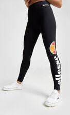 Ellesse Logo Leggings Black/white Uk Size12 # 52