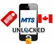 FACTORY UNLOCK SERVICE MTS CANADA IPhone 4 / 5 / 6 / 7 / 8 / X CLEAN IMEIs