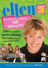 Ellen - The Complete Season 3 DVD DeGeneres three NIB new tv show television
