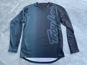Troy Lee Designs Long Sleeved Jersey Green Medium M