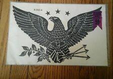 VINTAGE MEYERCORD DECALS BLACK EAGLE