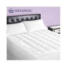 Serta Superior Loft Mattress Pad Down Alternative King Size Sertapedic Bed New
