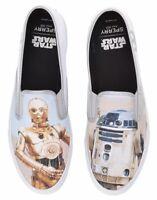 Sperry X Star Wars R2D2 C3PO Cloud Droids Slip On Shoe Sneaker Multiple Sizes Sz