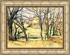 "Paul Cezanne Trees and Houses Near the Jas de Bouffan Framed 27""x21"" (V06-15)"