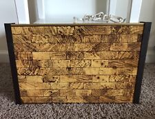 VINTAGE WARMING TRAY Jasco Products Wood Grain Model 1116 Tested Works