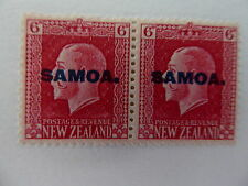 Mint Hinged George V (1910-1936) Samoan Stamps
