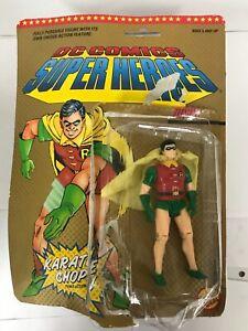 "Vintage 1989 Toy Biz DC Comics Super Heroes ""Robin"" w/ Karate Chop"
