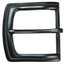 """Black Finish Pin Buckle for 1 1/2"""" Belts - by The Belt Shoppe"""