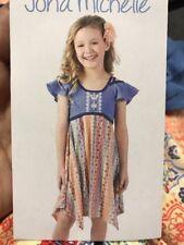 Jona Michelle Girls Dress Size 5 NWT