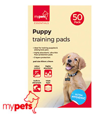 100 Pet Puppy Dog Wee Toilet House Training Large Super Absorbent Odourless Pads