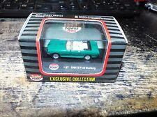 diecast model car 1:87 MODEL POWER MINIS 1964 1/2 FORD MUSTANG GREEN