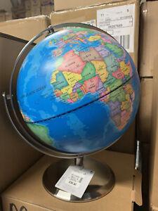 32CM Educational Swivel World Globe Map By M&S RRP £39.50 New Gift