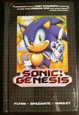 Sonic the Hedgehog Sonic: Genesis HC Hardcover Comic Graphic Novel
