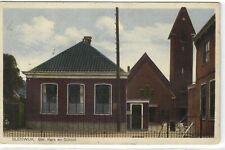 1 Postcard Zuid-Holland OtherZuid-Holland Bleiswijk - Ger. Kerk en School