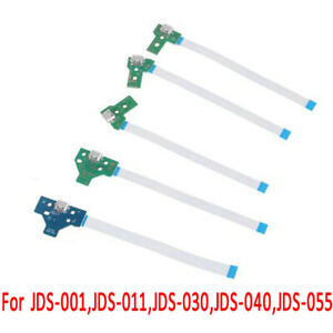 Replace USB Charge Port Board 12Pin 14Pin Cable For PS4 JDS-011 030 040 055 001