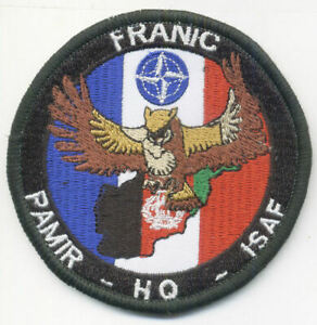 CARTOGRAPHIE / FRANIC PAMIR HQ ISAF - HIBOU CHOUETTE DUC