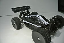 LOSI 1/14th MINI 8IGHT 2XCFL REAL CARBON FIBER SPORT BODY --REAR SPOILER COMBO