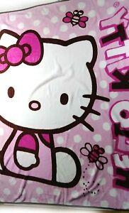 "Hello Kitty Blanket Throw Rug 48"" x 58"""