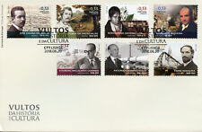 Portugal 2018 FDC Figures Portuguese History & Culture 7v Cover People Stamps