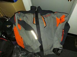Klim Valdez Jacket-Large Orange Grey