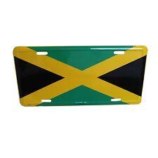 Jamaica Flag Licenses Plate Rasta Irie Marley Reggae One Love Roots Jamaica 12x6