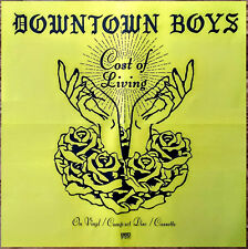 Downtown Boys Cost Of Living 2017 Ltd Ed New Huge Rare Poster +Free Rock Poster